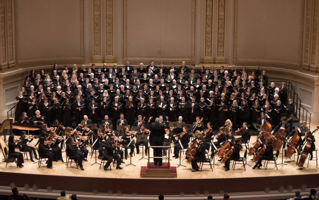 Conducting in Carnegie Hall 2014