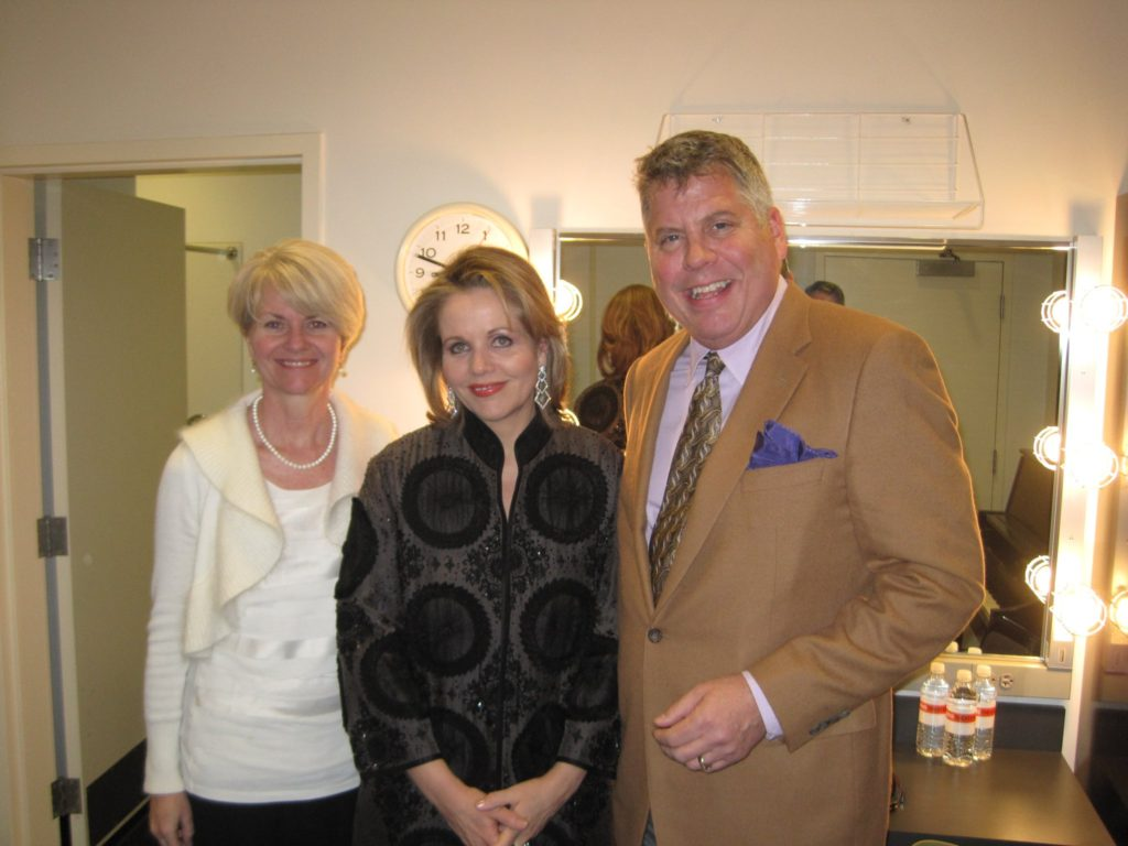 Karen Ellingboe and (classmate) Renee Fleming 2012